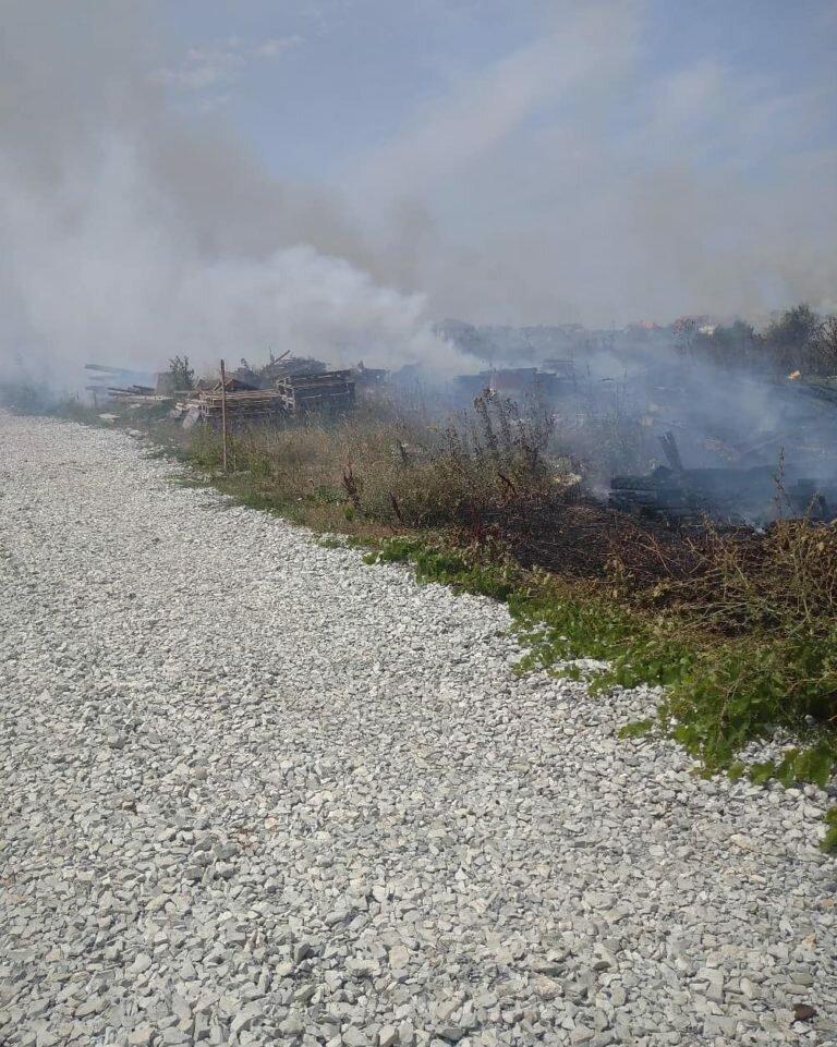 Пожар под Анапой